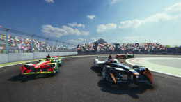 Formula E powered by Virtually Live