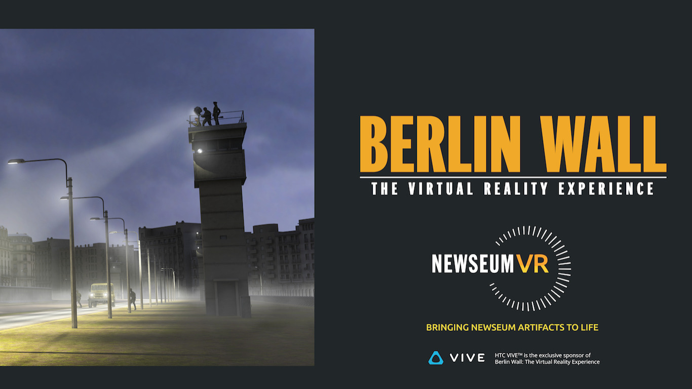 Berlin Wall: The Virtual Reality Experience