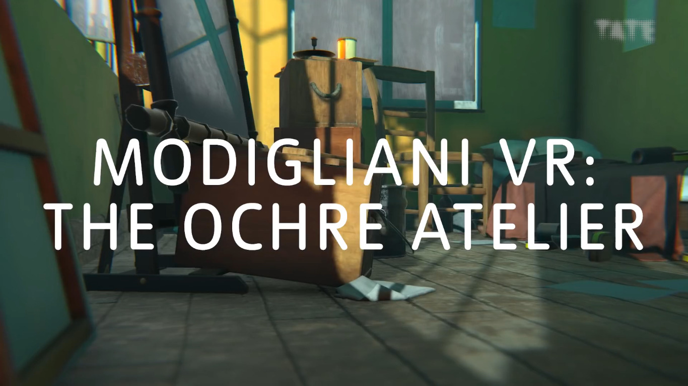Modigliani VR: The Ochre Atelier