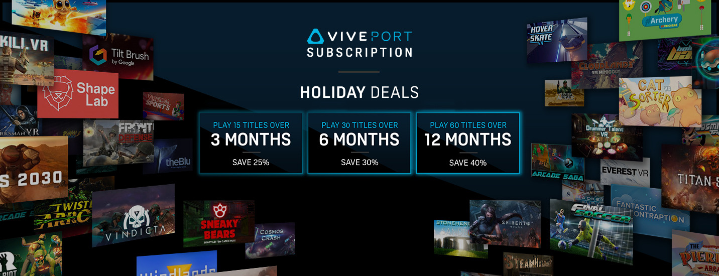 Viveport Aubscription Banner